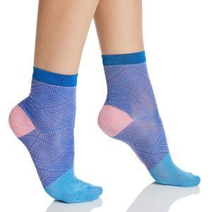 NWT Womens Blue & Pink Happy Socks